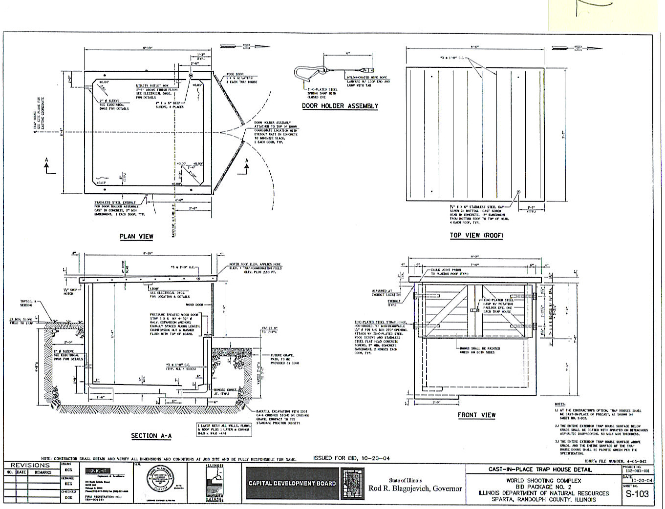 Briley mfg other manuals and instructions Trap house plans