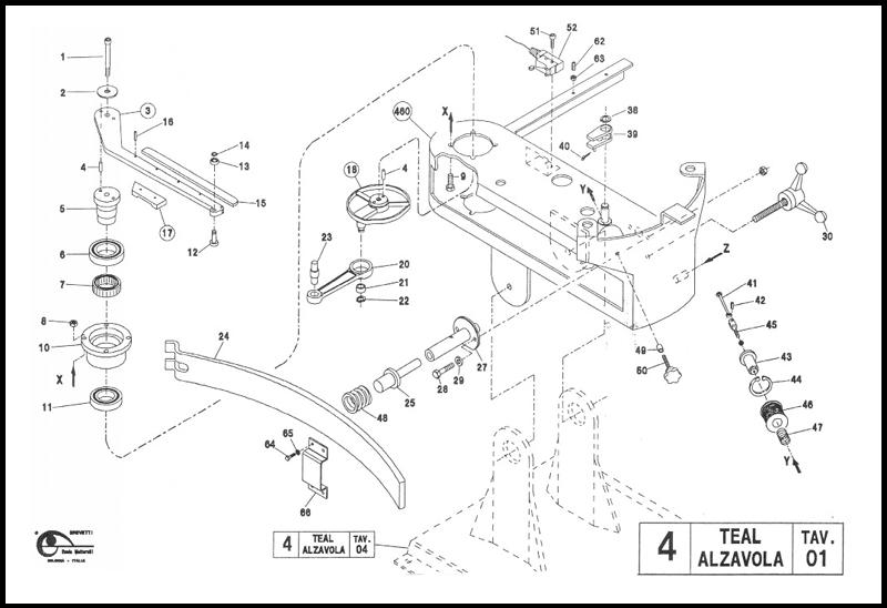 trap machine parts