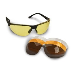 SPORT GLASSES WITH INTERCHANGEABLE LENS