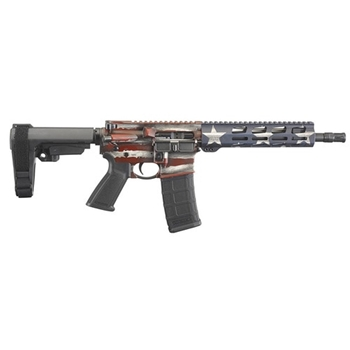 Ruger AR-555, model #8573 American Flag, .223, 10.5""