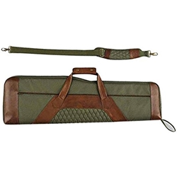 "Beretta B1 Signature Takedown Shotgun Case 37-1/2"" Polyester/Leather Loden Green/Brown"