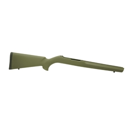 "Ruger 10-22 .920"" Diameter Barrel OD Green Rubber OverMolded Stock"